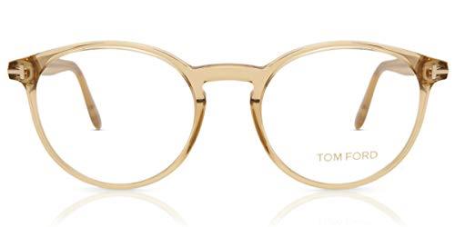 Eyeglasses Tom Ford FT 5524 045 shiny light brown