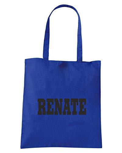 LOGO Royal RENATE ITALIA STEMMA Blu Shopper WC0999 Borsa CITTA S8xBZfn