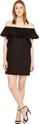 Boho-Chic Vacation & Fall Looks - Standard & Plus Size Styless - Rachel Zoe Women's Allison Dress, Black,