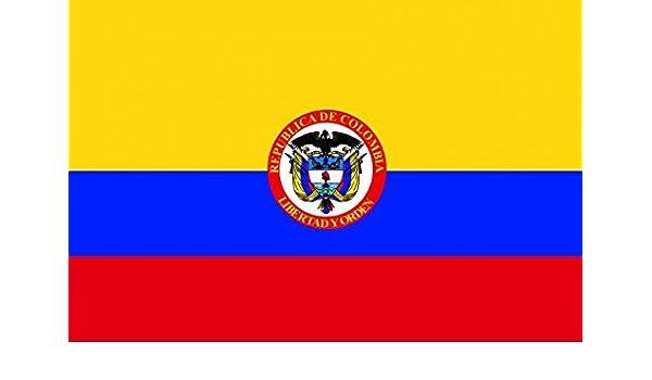 savent, Colombia – Bandera presidenziale: Amazon.es: Jardín