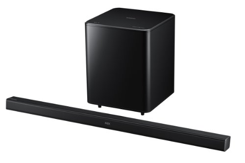 Samsung HW-H550 2.1 Channel 320 Watt Wireless Audio Soundbar (2014 Model)