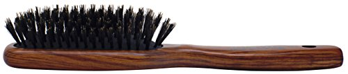 (Spornette Deville Sculpting Hair Brush - #343. Boar Bristle, Wood Handle, Cushioned Smoothing Brush for Daily Maintenance, Finishing & Adds Shine to Brush Outs and Blow Outs)