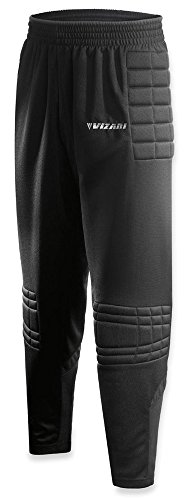 Vizari Youth Primo Goalkeeper Pant,Black, Youth Medium
