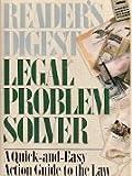 Legal Problem Solver, Reader's Digest Editors, 0895775506