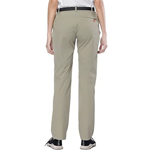 619ffcb30e chic MIERSPORTS Women s Outdoor Cargo Pants Water-Resistant Hiking Pants  with 4 Zip Pockets