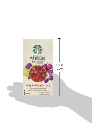 Starbucks VIA Refreshers™ Very Berry Hibiscus (5-pack) by Starbucks (Image #2)