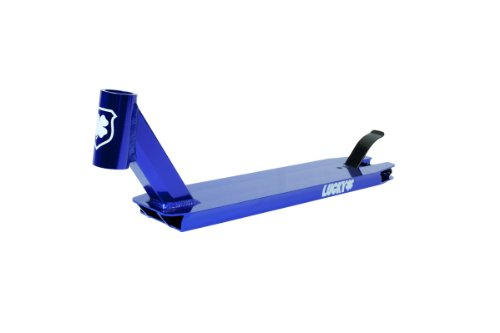 Lucky Stinger Pro Scooter Deck, Blue, 19.5 x 4-Inch by Lucky Scooter