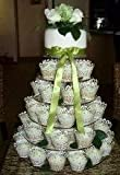 6 Tier Circle 5mm Thick Cupcake Wedding Party Cup Cake Fairy Display Stand by Classikool®