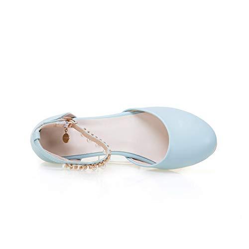 1TO9 Compensées Sandales Femme Inconnu Bleu MJS03516 8dCUcTq