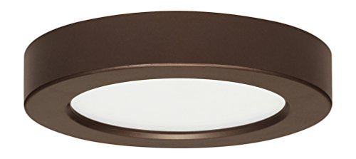 Satco Products S9322 Blink Flush Mount LED Fixture, 10.5W/5