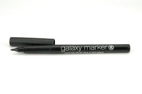 American Crafts GalaxyMarkerBulkMedTipBlack AMC Galaxy Marker Bulk Med Tip ()