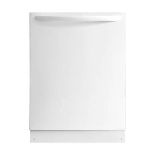 "Frigidaire Gallery 24"" Top Control Tall Tub Built-In Dishwasher with Stainless Steel Tub White FGID2476SW"