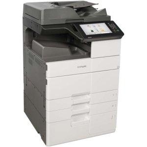Lexmark MX910 MX912DXE Laser Multifunction Printer - Monochrome - Plain Paper Print - Desktop - Copier/Fax/Printer/Scanner - 65 ppm Mono Print - 1200 x 1200 dpi Print - 65 cpm Mono Copy - Touchscreen - 600 dpi Optical Scan - Automatic Duplex Print - 3650
