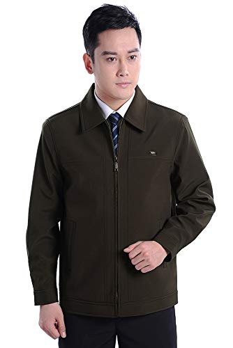 Jacket BOZEVON Men's 002 Casual Sized Plus Lapel Coat Style for Coat Men Jacket in qqg5H
