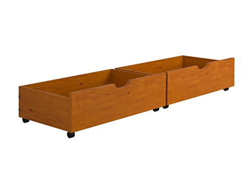 Under-Bed Storage Drawers--Honey by DONCO