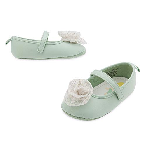 Tinker Bell Fairy Baby Costume Shoes Disney (0-6M) Green