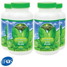 International Shipping  4 Bottles Of 90 Softgels Ultimate Efa Plus Youngevity Omega 3 6 9 Fish Oil Supplement Dr Wallach