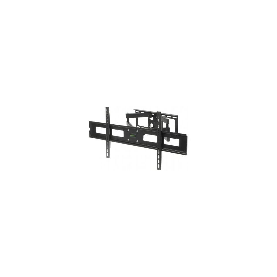 Abacus24 7 Articulating [Tilt & Swivel Adjustable] Dual Arm Wall Mount Bracket for Samsung PN60E550, PN60E8000, PN60E535, PN64F8500, PN64F5500, PN64F5300, PN64E533, PN64E7000, PN64E550, PN64E8000, UN65F9000, UN65F8000, UN65F7050, UN65F7100, UN65F6400,