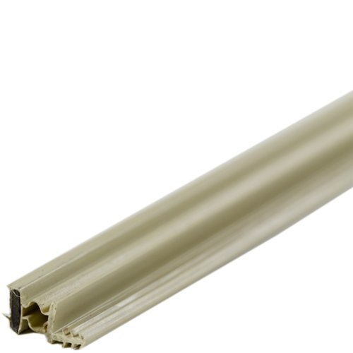 M D Building Products 1610 Steel Door Magnetic Weatherstrip, 36 By 81  Inches, Beige