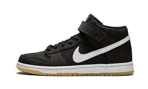 Dunk Mid Pro Shoe - SB Dunk Mid Pro ISO (Black/White- Black 9.5)