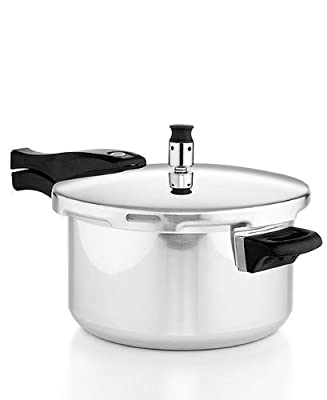 Casa Essentials Aluminum Pressure Cooker 5 Quart
