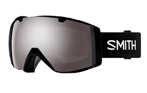 Smith Optics Adult I/O Snowmobile Goggles Black / ChromaPop Sun Platinum Mirror by Smith Optics