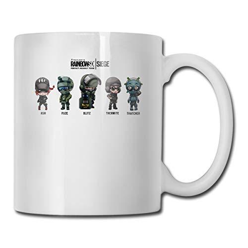 WangSiwe Rainbow Six Siege Ceramic Tea Cup Coffee Mug Gift Cup Personalized Custom Gift
