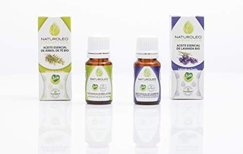 Naturoleo Cosmetics - Árbol de Té BIO + Lavanda BIO - Pack Aceites ...