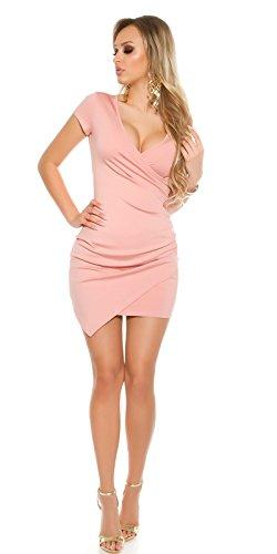 In Femme Rose Robe Foncé Unique Taille stylefashion x60CawxS