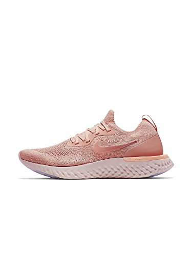 Tropical Epic Pink NIKE React Multicolour 602 Flyknit Women's Pink WMNS Running Competition Rust Pink Shoes Tint wFFpA
