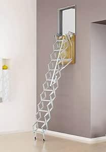 Escalera plegable de pared: Amazon.es: Bricolaje y herramientas