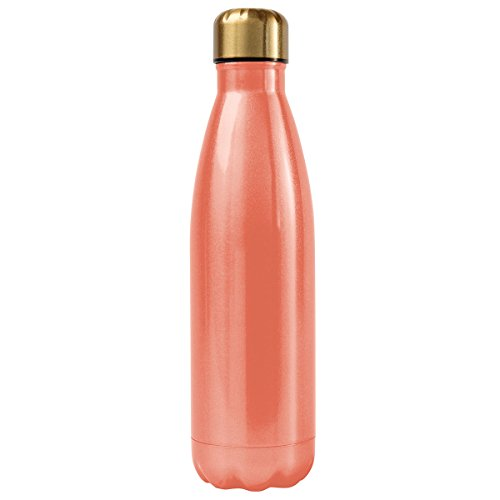 Alexandra and Company Water Bottle, Coral -