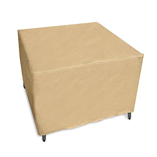 Protective Covers 1115-TN Quality Square Outdoor Table Cover, Tan by Protective Covers