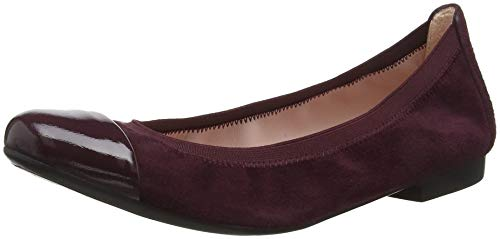 Bordo Para shade Rojo Shirley Bailarinas angelis Mujer Pretty Ballerinas Red Radice twX0qaxY