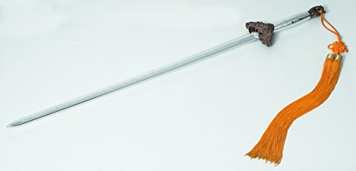 "DevilFish 39"" Polypropylene Battle Ready Taichi Chinese Sword - Chrome Finish"