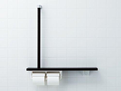 コスト高い地味なLIXIL(リクシル) INAX トイレ用 棚手すり(L型タイプ?左右共通) ホワイト NKF-3WU2/WA