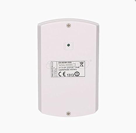 Visor Tech PIR-sensor de movimiento con gsm-función, funciona a pilas: Amazon.es: Electrónica