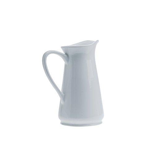 (Denmark - White Porcelain Pitcher 94 ounce 2.8 Liter)