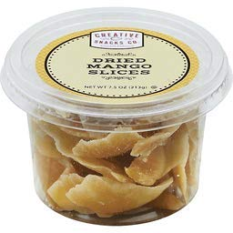Creative Snacks Dried Mango Slices Cup 7.5 OZ (Pack of 12)