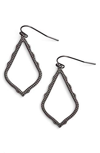 Kendra Scott Signature Sophia Drop Earrings - Gunmetal