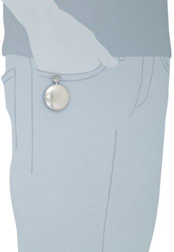 Charles-Hubert-Paris-3918-Premium-Collection-Stainless-Steel-Mechanical-Pocket-Watch