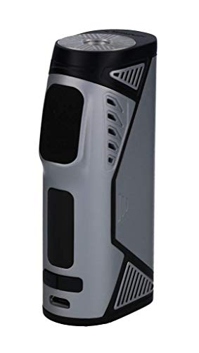 Uwell Hypercar Akkuträger – Ausgangsleistung max. 80 Watt – ohne 18650er Akkuzellen – von Uwell – Farbe: silber