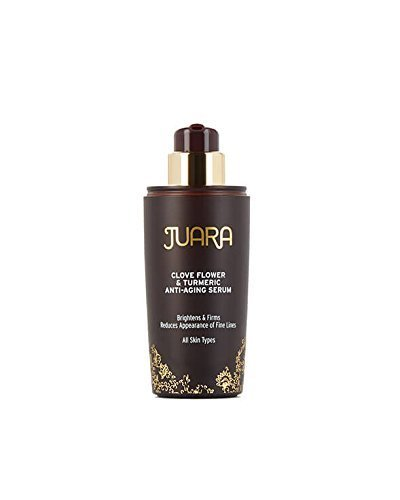 JUARA Anti-Aging Serum - Clove Flower & Turmeric Anti-Aging Serum - Beauty Elixir Made of Superfoods - 100% Vegetarian, Cruelty-Free, Dermatologist-Tested