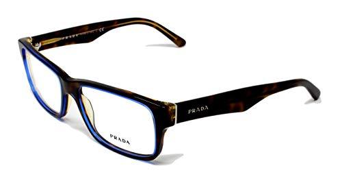 Eyeglasses Prada PR 16MV ZXH1O1 TORTOISE DENIM DEMO LENS 55mm -