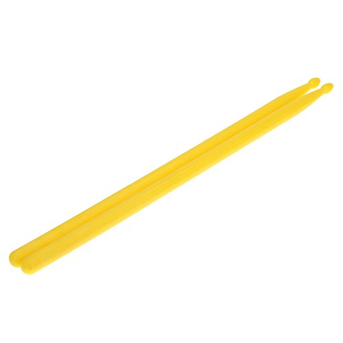 Andoer Pair of 5A Drumsticks Nylon Stick for Drum Set Lightweight Professional