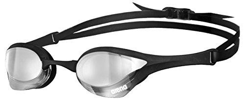 arena Cobra Ultra Mirror Swim Goggles, Silver/Black/Black