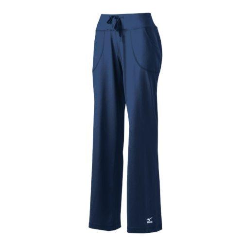 Mizuno Women's Nine Collection Straight Pant, Navy, X-Small