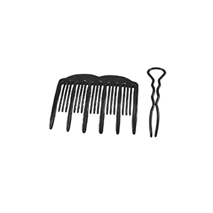 French Twist Hair Styling Comb Tools With U Shape Pin/French Pleat Hair Maker Comb By Mytoptrendz