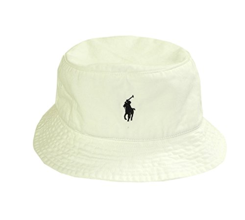 Polo-Ralph-Lauren-Mens-Bucket-Floppy-Hat-White