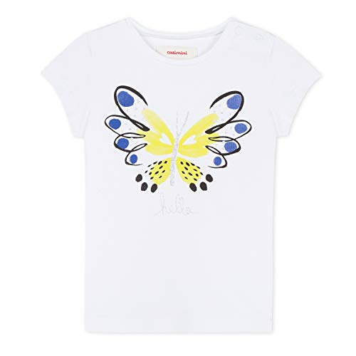 Catimini Baby Girls Pretty Hello Butterfly Tee Shirt (18 Months) White